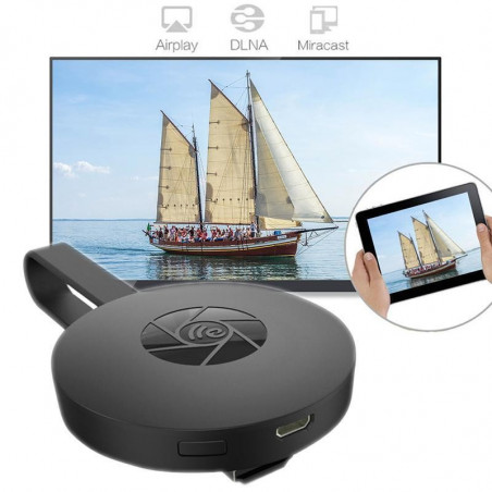 CHROMECAST GOOGLE TV VIDEO HDMI STREAMING VIDEO WIRELESS 4K SMART VIEW G2 WIFI