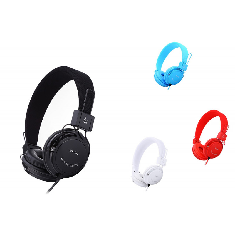 CUFFIA STEREO AURICOLARE MP3 CELLULARE JACK 3.5MM IOS ANDROID