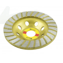 DISCO SMERIGLIATRICE FLEX MOLA DIAMANTATO 11,5 CM 115 MM
