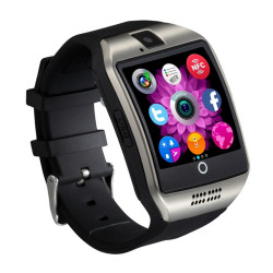 SMART WATCH SMARTWATCH Q18 OROLOGIO TELEFONO CELLULARE BLUETOOTH SIM CARD SD MIC