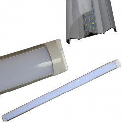 APPLIQUE PLAFONIERA LED SMD SLIM SOFFITTO 120 CM 121.5CM LUCE LAMPADA 36W 6500K