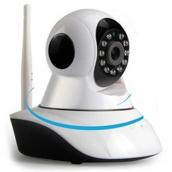 IP CAMERA TELECAMERA 355° HD WIRELESS WIFI NO DNS MOTION SD VIDEOSORVEGLIANZA