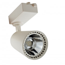 Faro Faretto Cob Led Binario Orientabile Luce 40w