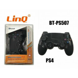 Joypad Controller Joystick Gamepad Wireless Bluetooth Sony PS4 Linq Bt-ps507