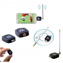 RICEVITORE DIGITALE EZTV USB TV TERRESTRE ANDROID DVB-T MICRO USB SMARPHONE TV