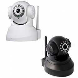 Telecamera Ip Camera Cam Wireless P2p Registra Micro Sd Dvr 10 Led