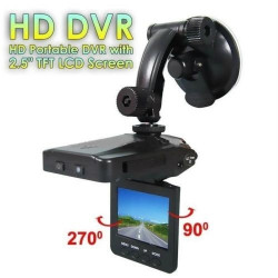 "MINI DVR TELECAMERA VIDEOREGISTRATORE PER AUTO HD MONITOR LCD 2.5"" VIDEO 6 LED"